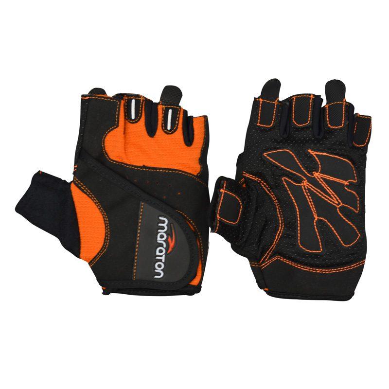 دستکش ورزشی زنانه ماراتن مدل KTB-0225 نارنجی