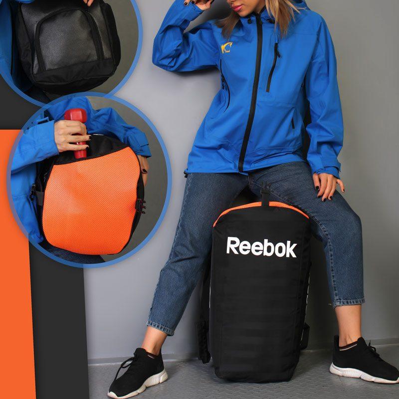 ساک ورزشی ریباک مدل AZS-0220 لایف استایل نارنجی