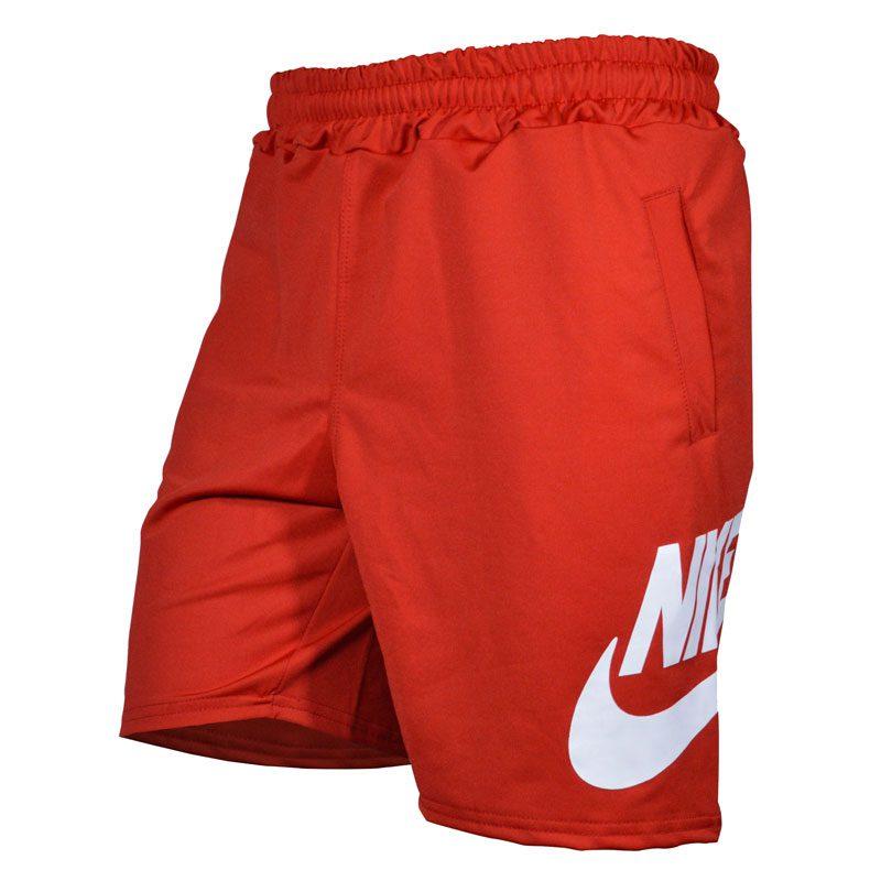 شلوارک ورزشی مردانه نایکی مدل PY-BigNIKE FL قرمز سه رخ