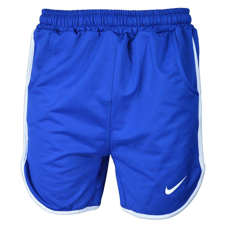 شلوارک ورزشی مردانه نایک مدل PY-0220 آبی خط سفید