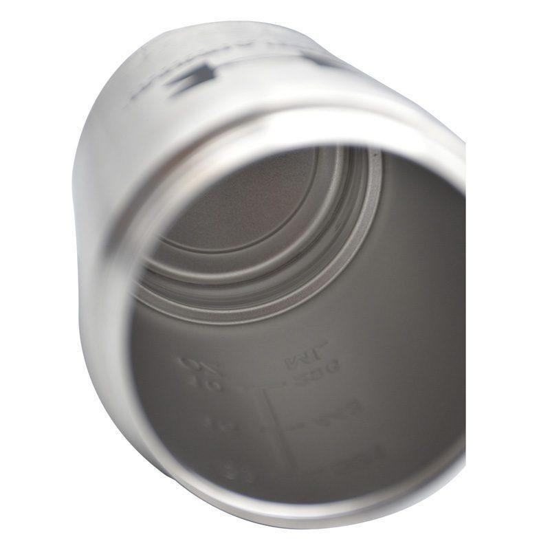 داخل شیکر بدنسازی استیل دو تیکه آندر آرمور ظرفیت 0.65 لیتر