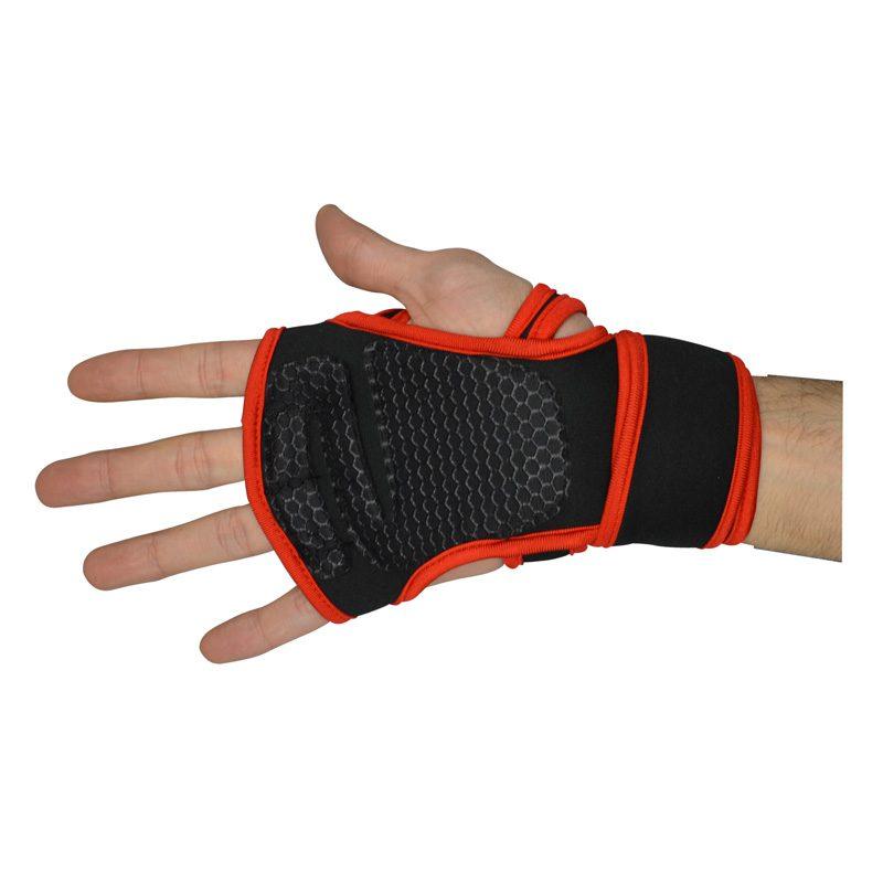 مچ بند و محافظ کف دست ورزشی آدیداس GNV قرمز