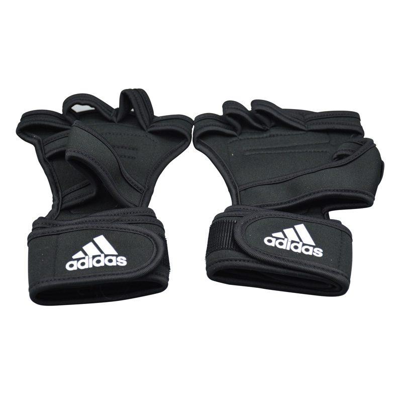 مچ بند و محافظ کف دست ورزشی آدیداس GNV مشکی