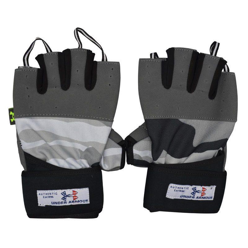 دستکش بدنسازی آندر آرمور مدل GDS-140 چریکی FREE SIZE