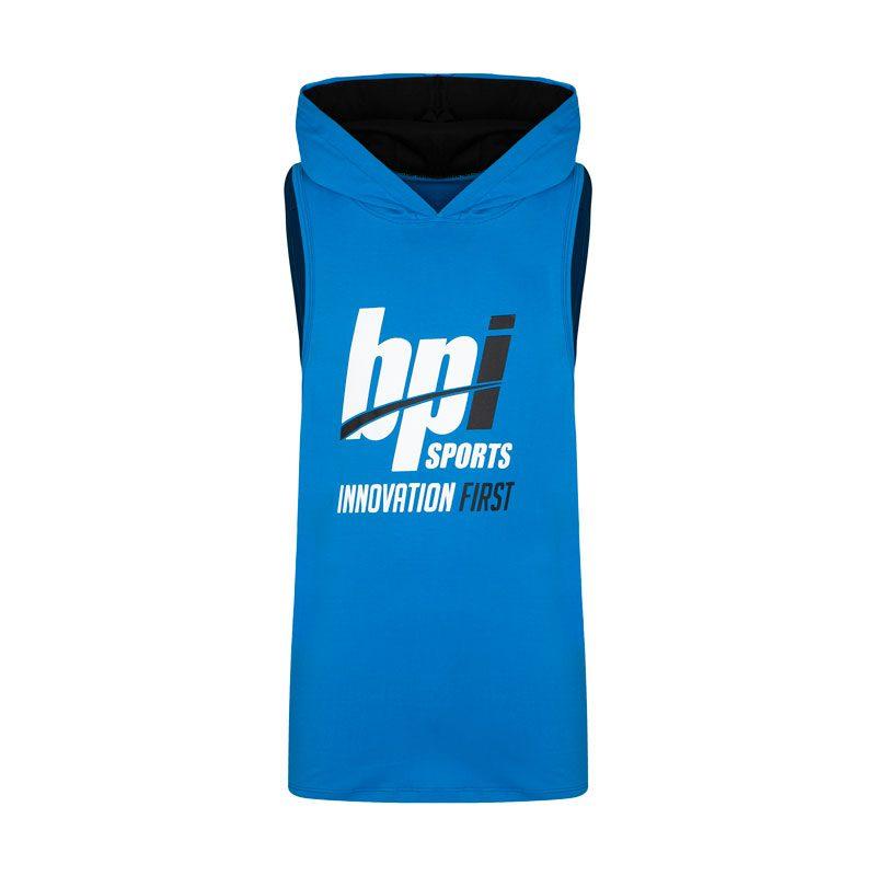 رکابی کلاه دار ورزشی مردانه بی پی آی مدل GB-INNO FIRST آبی